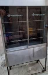 Título do anúncio: Vendo uma galeteira completa $ 600 em perfeito estado (27 98837_9758) Manoel)