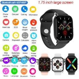 Smartwatch P8 Pro Max Dt.36 - Grátis Pulseira Extra - Aceito cartão