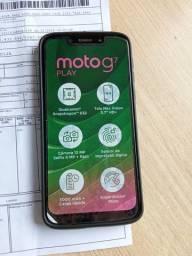Moto g7 play muito novo Nota fiscal