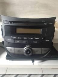 Rádio original do hb20 premium