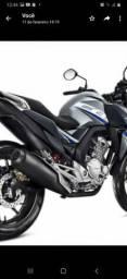 Moto cb twist ano 2019