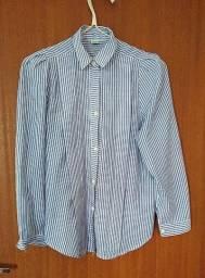 Camisa Vintage listrada