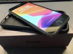 Iphone 8 64GB preto impecável 100% bateria NOVA