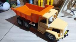 Caminhão marca bicolor