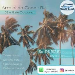 Título do anúncio: Feriado em Arraial do Cabo