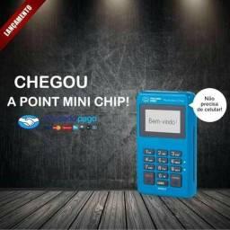Point mini chip - maquina de cartao super facil e pratico de usar