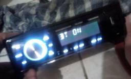 Rádio com Bluetooth e USB ...semi-novo
