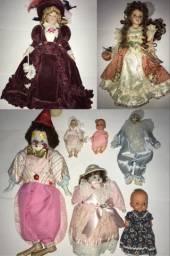 Bonecas antigas e de porcelana leia o anúncio