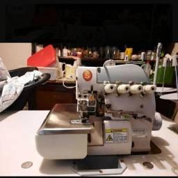 Título do anúncio: Máquina De Costura Overloque Singer 322d Com Direct Drive Semi nova sem uso.