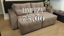 Título do anúncio: Limpeza de sofás