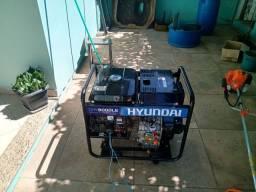 Gerador diesel Hyundai 8000