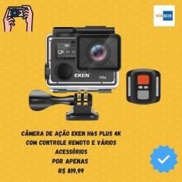 Câmera de ação eken H6s plus 4k - Lacrada