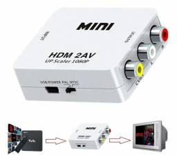 Conversor HDMI x AV
