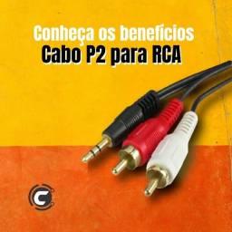 Título do anúncio: Cabo RCA para P2