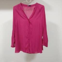 Camisa Rosa - M