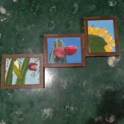 Quadros artesanais decorativos