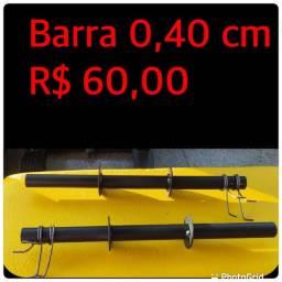 Título do anúncio: Barra w barra reta supino