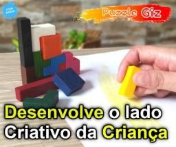 Peças Para Montar Formato Jogo Tetris - Brinquedo Educativo