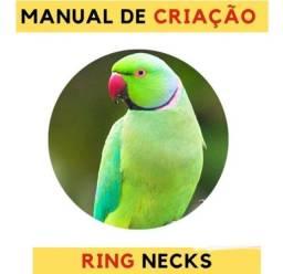 Título do anúncio: Ring Neck e Rosela apostila como cuidar.