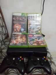 Xbox 360 desbloqueado com hd de 500 gb com mais de 16 jogos