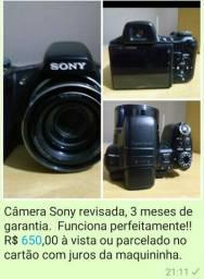 Máquina fotográfica semi profissional cyber short Sony