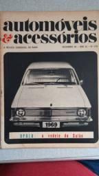 Revistas automotivas automóveis d acessórios