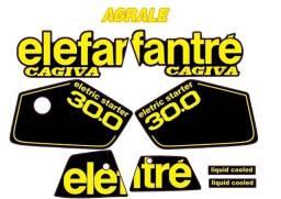 Kit Adesivo Agrale 30.0 Elefantré Preta