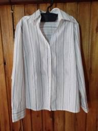 542 - Camisa social feminina - Tam 44