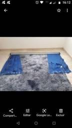 Vendi tapete com cortina 400,00
