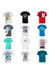 Kit 10 Camisa Camiseta Blusa Masculina<br><br>