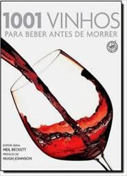 Título do anúncio: 1001 Vinhos para Beber Antes de Morrer