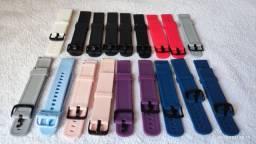 Pulseira Silicone Smartwatch Active Amazfit Bip Gts Gtr P8plus etc. 20mm.