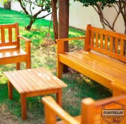 Título do anúncio: Conjuntos de área em madeira