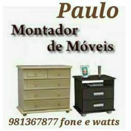 Montagem e desmontagem móveis