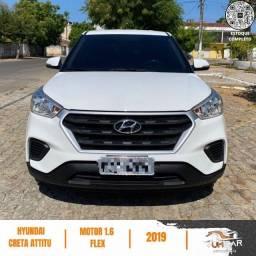 Título do anúncio: Hyundai Creta - Attitude 1.6 - Automatico - 2019 - 14.000Km - Branco - Pronta Entrega