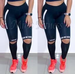 Calça leggings poliamida
