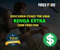 Ganhe dinheiro no free fire