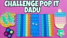 Tapete Pop it Gigante Jogo Mini Game Anti-estresse Apertar Brinquedos