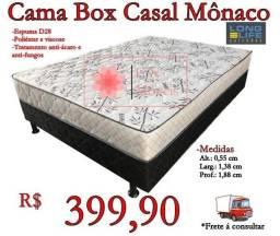 Título do anúncio: Cama box Casal Mônaco/ Frete à consultar