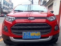 Ford ecosport freestyle manual 1.6 flex 4p vermelha ano 2015 raridade 45.800km ipva2021pg