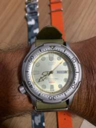 Relógio citizen aqualand Tuna 300 mtrs titanium