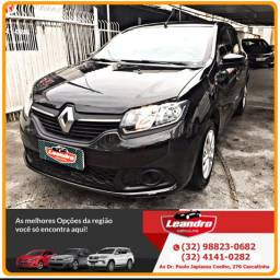 SANDERO EXPRESSION 1.6 8V 2015 MULTIMÍDIA MANUAL FLEX COMPLETI?SSIMO.