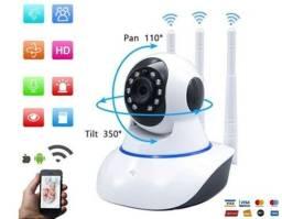 Título do anúncio:  Câmera Wifi IP DH, Infravermelho, V360, D. Áudio, Alarme.