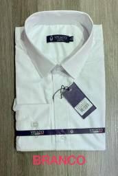 Kit 25 Camisas Social Masculina Modelo Slim Atacadao