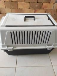 Caixa Transporte Atlas 40 Profissional Para Cães Até 20 Kg