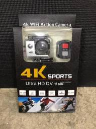Camera Filmadora Digital Esporte Full Hd Wifi Go Pro E22