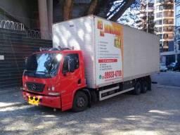 Título do anúncio: Mudanças residenciais e comerciais caminhão baú