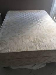 Colchão casal espuma e base box