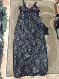 Vestido de festa longo 46