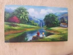 Quadro Painel Paisagem 90x50
